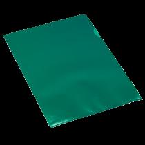Aktmapp PP A4 0,11 mm grön 100/fp