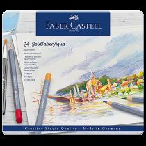 Färgpennor Faber-Castell Art Goldfaber Aqua 24/fp