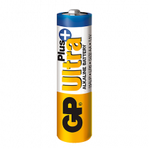 Batteri GP Ultra+ Plus Alkaline AA/LR6 4/fp