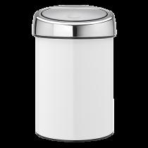 Avfallshink Touch Bin 3L vit