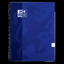 Anteckningsbok Oxford Touch A4 linjerat blå