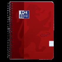 Anteckningsbok Oxford Touch A5 linjerat röd