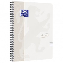 Anteckningsbok Oxford Touch A4+ linjerat vit