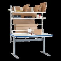Packbord med motorstativ 1500x800 mm
