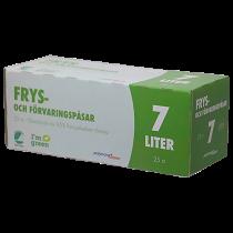 Fryspåsar 7 liter 25/fp