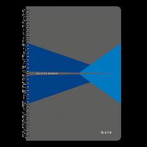 Anteckningsbok Leitz Office A4 linjerat blå