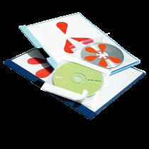 Cd/dvd-ficka Durable Cd-Fix 10/fp
