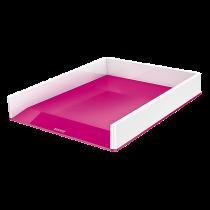 Brevkorg Leitz Wow tvåfärgad rosa