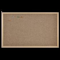 Anslagstavla Linen 60x120 cm