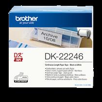 DK-etikett Brother Löpande etikett 103 mmx30,48 m