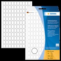 Märketiketter Herma 8x12 mm 3840/fp