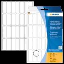 Märketiketter Herma 13x40 mm 896/fp