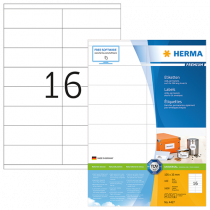 Etiketter Herma Premium 105x35 mm 1600/fp