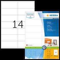 Etiketter Herma Premium 105x41 mm 1400/fp