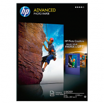 Fotopapper HP Advanced Glossy A4 25/fp